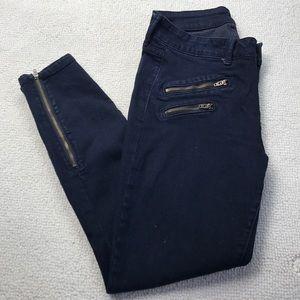 Pistola Ankle zip skinny jeans